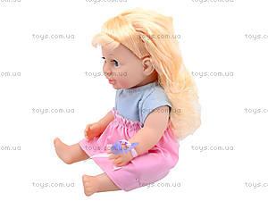 Интерактивная кукла-пупс Baby Toby с аксессуарами, 30715B6, детские игрушки