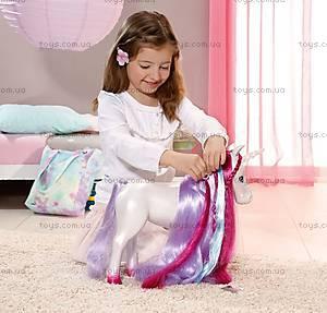 Интерактивная лошадка для куклы Baby Born «Единорог», 820711, цена