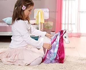 Интерактивная лошадка для куклы Baby Born «Единорог», 820711, игрушки