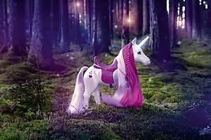 Интерактивная лошадка для куклы Baby Born «Единорог», 820711, toys