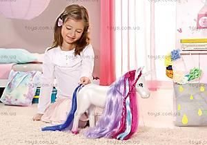 Интерактивная лошадка для куклы Baby Born «Единорог», 820711, іграшки