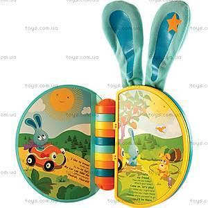 Интерактивная музыкальная игрушка-книжка «Ушастая книжка Бани», 61034