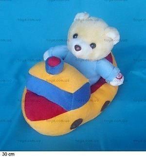 Интерактивная мягкая игрушка «Лодка», JM093