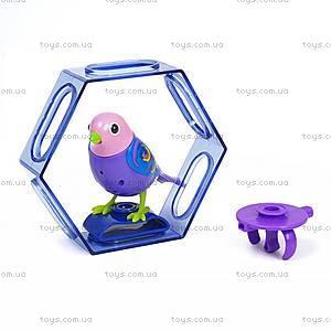 Интерактивная птичка DigiBirds «Фиалка» с клеткой, 88023-7