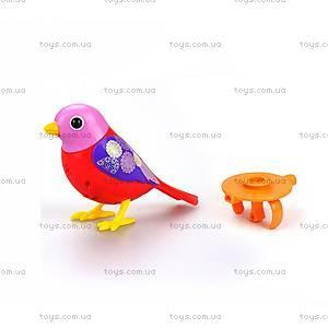 Интерактивная птичка DigiBirds «Скарлетт», 88025-1
