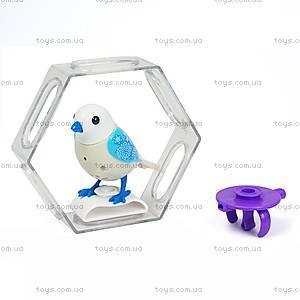 Интерактивная птичка DigiBirds «Снежинка» с клеткой, 88023-8