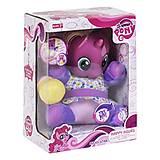 """Интерактивная игрушка """"Малыш Пони"""" фиолетовый, 66211/66212, купить"""