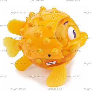 Интерактивная игрушка Рыба-еж серии «Мерцающие рыбки», 638237M, фото