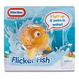 Интерактивная игрушка Рыба-еж серии «Мерцающие рыбки», 638237M