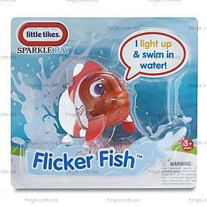 Интерактивная игрушка Рыба-клоун серии «Мерцающие рыбки», 638220M