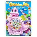 """Интерактивная игрушка """"Рыбалка: Крокодильчик"""" розовый, 8866A, купити"""