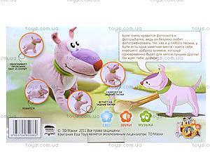 Интерактивная игрушка «Щенок Буля», EI80065R, детские игрушки