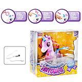 """Интерактивная игрушка """"Смышлённый питомец: единорог"""" розовый, E5599-8"""