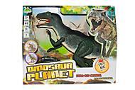 Интерактивный динозавр зеленый, RS6124A, фото