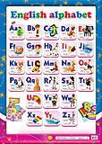 Интерактивный плакат с алфавитом, 0129, купить