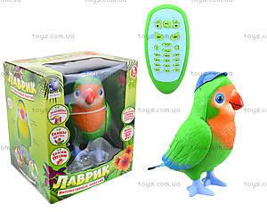 Интерактивная музыкальная игрушка «Попугай-повторюшка», TK272