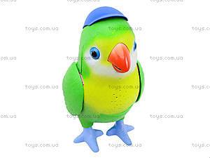Интерактивная игрушка для детей «Попугай Лаврик», TK273, магазин игрушек