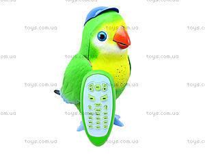 Интерактивная игрушка для детей «Попугай Лаврик», TK273, іграшки