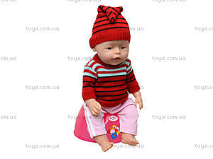 Интерактивный пупс Baby Doll, 058GR, toys.com.ua