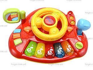 Интерактивный руль «Планета звуков», 7305, игрушки