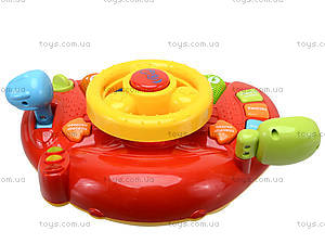 Интерактивный руль «Планета звуков», 7305, детские игрушки