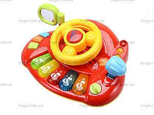 Интерактивный руль «Планета звуков», 7305, toys.com.ua