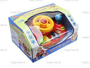 Интерактивный руль «Планета звуков», 7305, toys