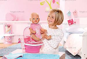 Интерактивный унитаз для куклы Baby Born «Первый горшочек», 819890, цена