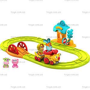 Интерактивный игровой набор «Бани. Железная дорога», 61093