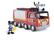 Интерактивный игровой набор серии «Спасатели» - Пожарная машина Микки, 181922