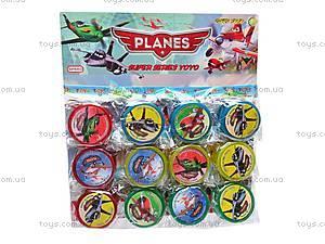 Йо-Йо для детей «Самолетики Летачки», 555-17A, отзывы