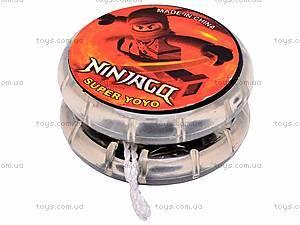 Йо-Йо «Ninjago», с подсветкой , 8-12R, купить