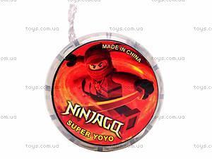Йо-Йо «Ninjago», с подсветкой , 8-12R