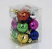 Ёлочная игрушка «Диско-шар», 12 штук, 01173, фото