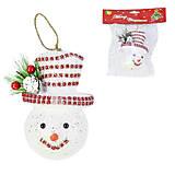 Ёлочная игрушка «Снеговик» 12 см, C31044, интернет магазин22 игрушки Украина