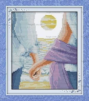 Искренняя любовь, картина для вышивки, R078