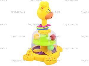 Юла «Жираф с шариками», 83058, купить