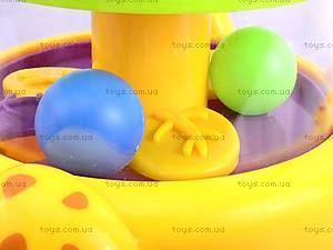 Юла «Жираф с шариками», 83058, фото