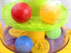 Юла «Жираф с шариками», 83058, игрушки