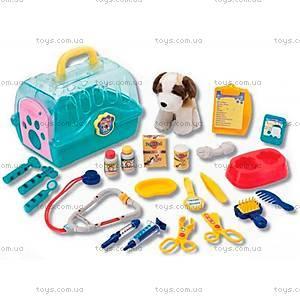 Игровой набор с собакой «Юный Ветеринар», K21021, купить