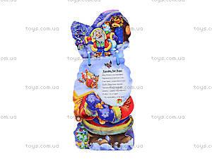 Мягкая книжка для детей «Дед Мороз», М554001Р, купить