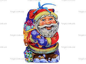 Мягкая книжка для детей «Дед Мороз», М554001Р, цена