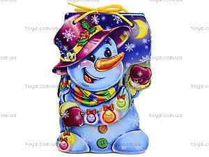 Мягкая книжка для детей «Снеговик», М554002Р, цена