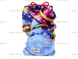Детская книжка «Снеговик» со шнурком, М555006У, отзывы