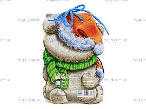 Книжка для детей «Белый медведь» со шнурком, М555004Р, отзывы