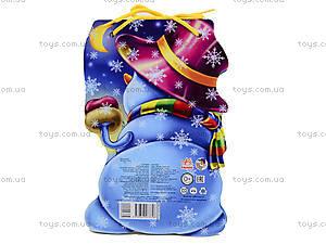 Книжка для детей «Cнеговик» со шнурком, М555002Р, отзывы