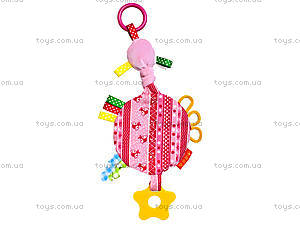 Игрушка-подвеска с прорезывателем, MK6101-01, цена