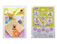 Игрушка для новорожденных «Масик» ромб с прорезывателем, MK6101-02