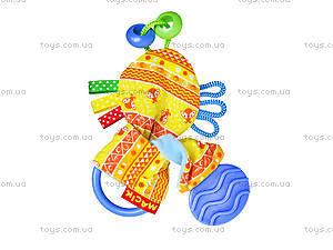 Игрушка с прорезывателем «Желтые ушки», MK6101-05, купить
