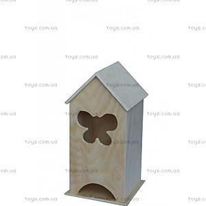 Заготовка для декупажа «Чайный домик с бабочкой», LY1411-0371